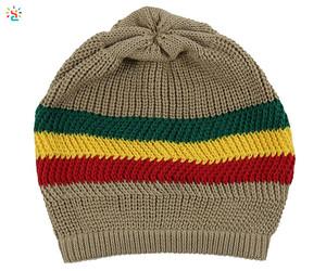 9803de697b64e Rasta Beanie Hat Wholesale