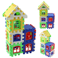 24pc House Building Blocks Educational Learning Construction Developmental Toy Kids Brain Game Learning Educational Toys