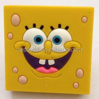 Knob With Pattern Spongebob,kids Furniture Handles