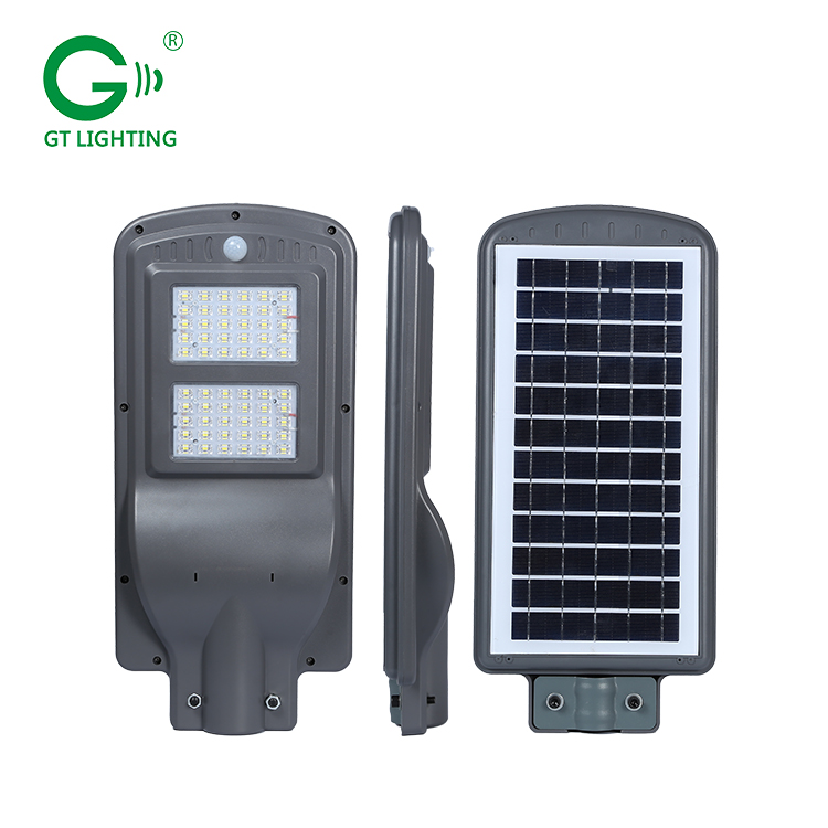 New modular ip66 waterproof outdoor 30w 60w 90w motion sensor solar led street light