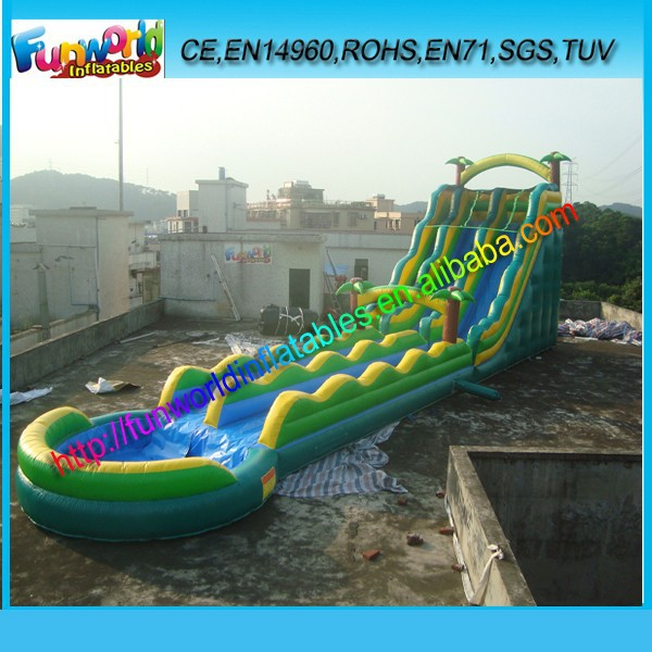 Hot saling commercial giant adults and kids water slide for inflatable pool
