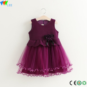 birthday dress for baby girl or kids wedding dresses,one piece girls party dresses