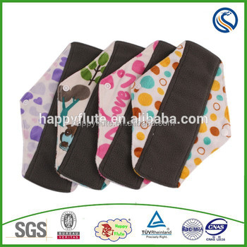 Happyflute Cloth Menstrual Pads,Reusable Menstrual Pads,Bamboo ...
