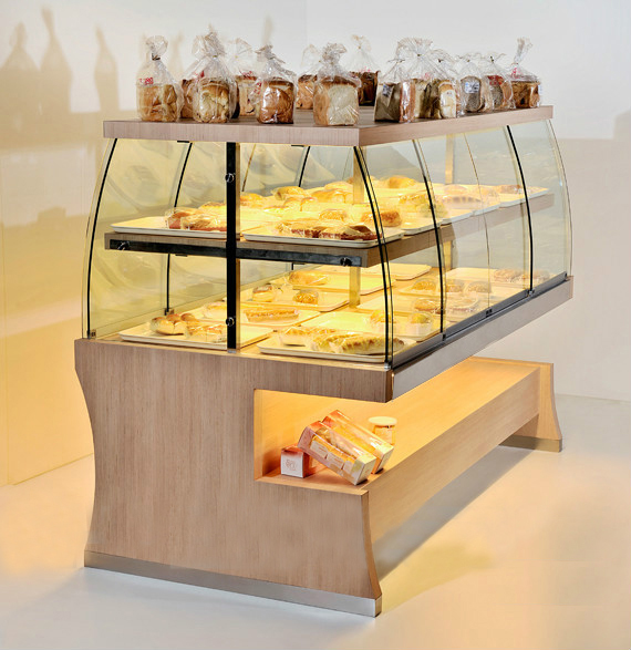 Commercial used display cases for sale, cold display case
