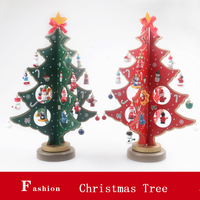 Bulk promotion mini artificial wood christmas tree high quality christmas decorating