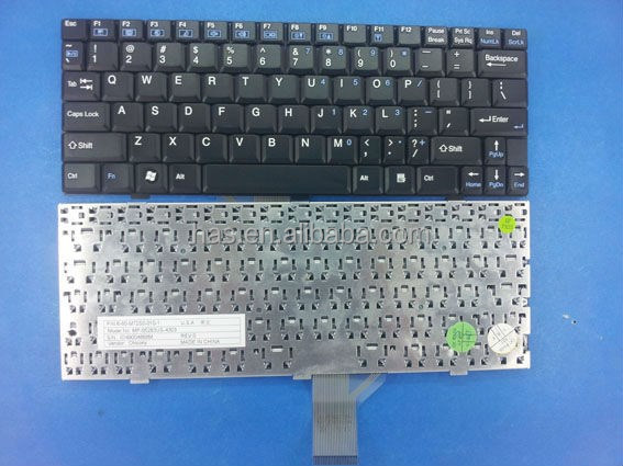 Hot Sales Laptop Keyboard for Haier W12 Black UK US SPANISH Keyboard
