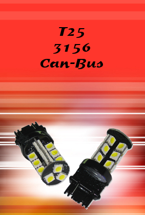 T25 3156 Can-Bus LED Auto Bulb
