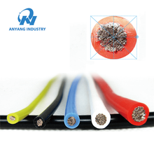 Heat Resistant Electrical Coated Silicone Rubber Cable Wire
