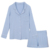 Knit Girls Sleepwear Suit and Shorts Bamboo Children Pajamas Set
