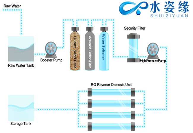 250 Lph Ro Water Treatment Plant Price Drinking Water Ozonator ...