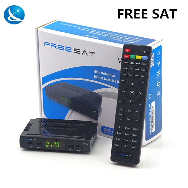 Original <strong>hd</strong> <strong>satellite</strong> <strong>receiver</strong> Freesat V7 <strong>hd</strong> dvb-s2 kodi tv box support Powervu bisskey cccam usb wifi