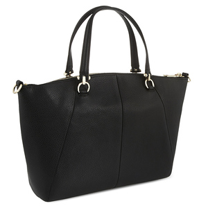 Dreambag grained leather OEM genuine handbags for women leather