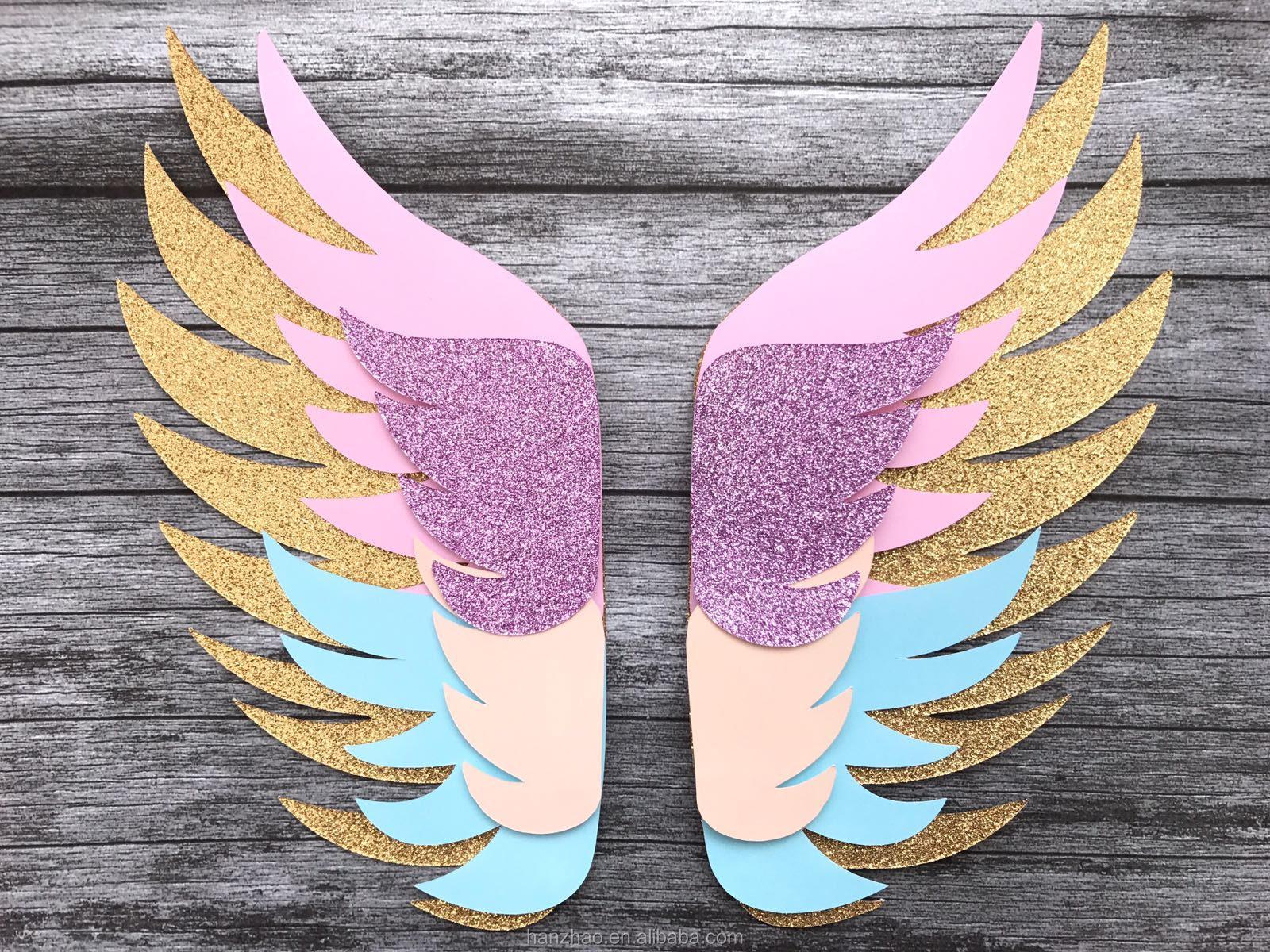 крылья ангела открытка своими руками домашних условиях