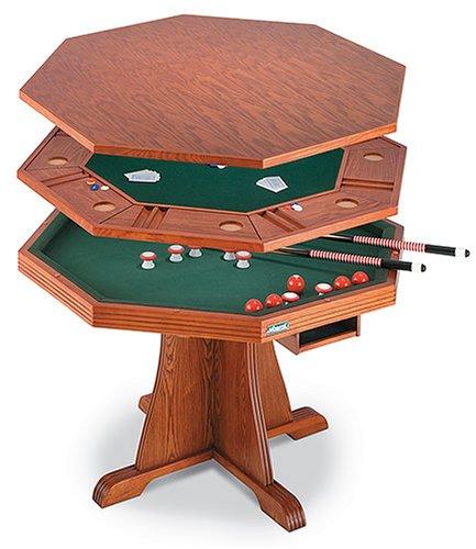 Get Quotations · Mizerak 3 IN 1 Bumper Pool Table