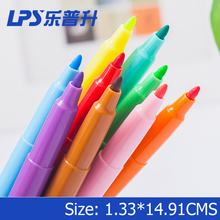 Assorted Colors Water Color Marker Fine Tip Connected Multi Color Marker Pen Supplier
