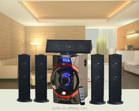 5.1 Big bass hifi system surround sound speaker