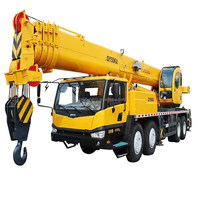 China Best Truck Crane 50 Ton Truck Crane QY50KA