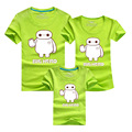 PSEEWE New Fashion Family Matching Clothes T Shirt 9 Colors Summer Matching Fother Father Baby Family