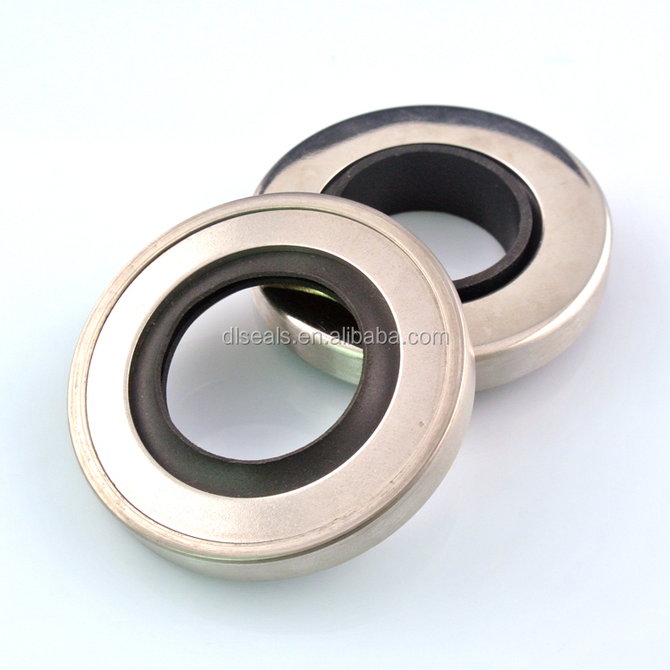 PTFE lip seal stainless steel oil seal ring for auto sealing