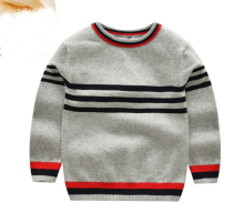 도매 trendy striped 면 니트 kids boys 옷