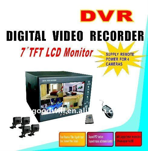 4 Channel Standard Security DVR 4ch dvr