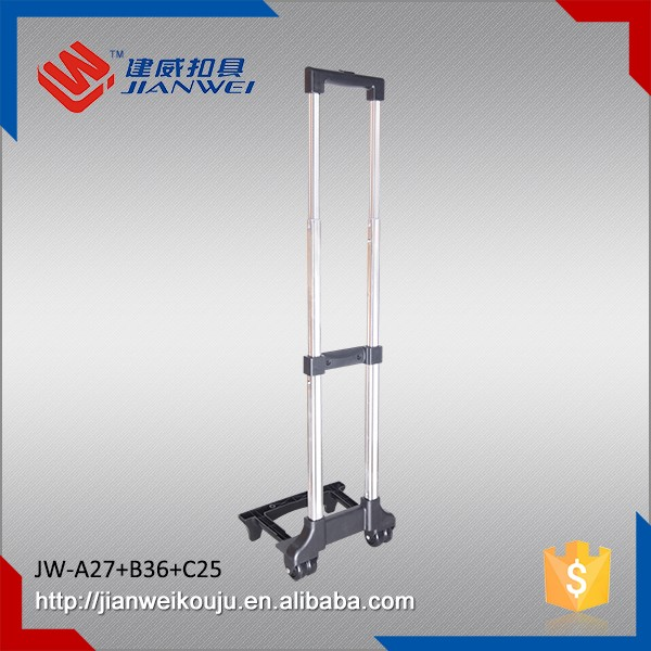 Trolley handle parts accessory, telescoping suitcase external handle JW-A27+B36+C25