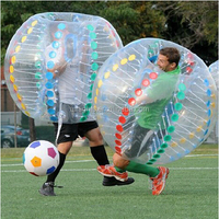 Loopy Soccer price adult size Colorful Bubble inflatable Ball big air ball