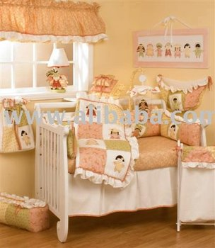 Peach Cream Boutique Baby Bedding Crib Sets Nursery Decor