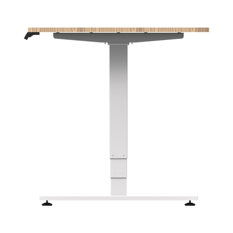 2 Person Vertical Computer Standing Desk with Converter