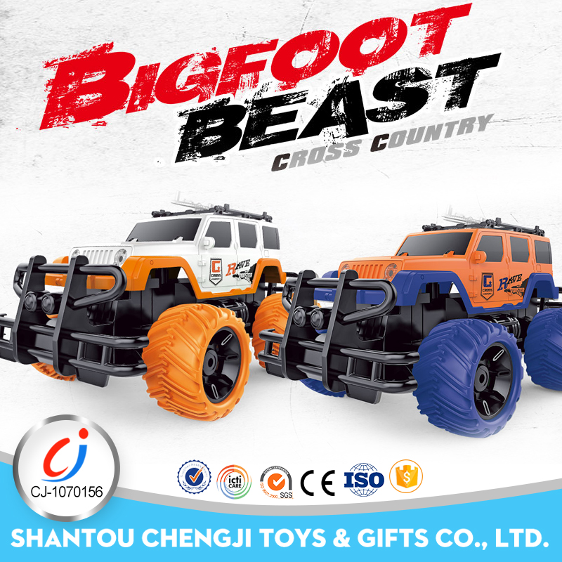 1:16 4ch bigfoot beast cross country rc car bodies sale with light