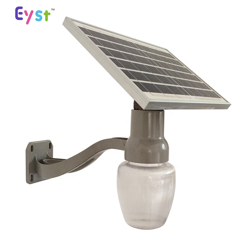 Wholesale warm white waterproof IP65 9w peach moon type outdoor solar led garden light