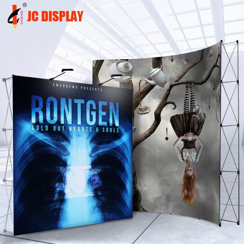 Exhibition Wall Backwall Seg Pop Up Banner Backdrop <strong>Stand</strong>