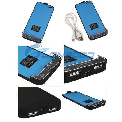 2200mAh Backup Charger Case External Battery For apple iPhone 5