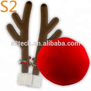 Custom popular foam Christmas reindeer car kits