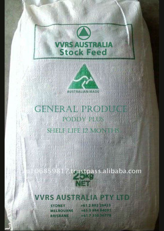 Animal feed for General Produce - Poddy Plus
