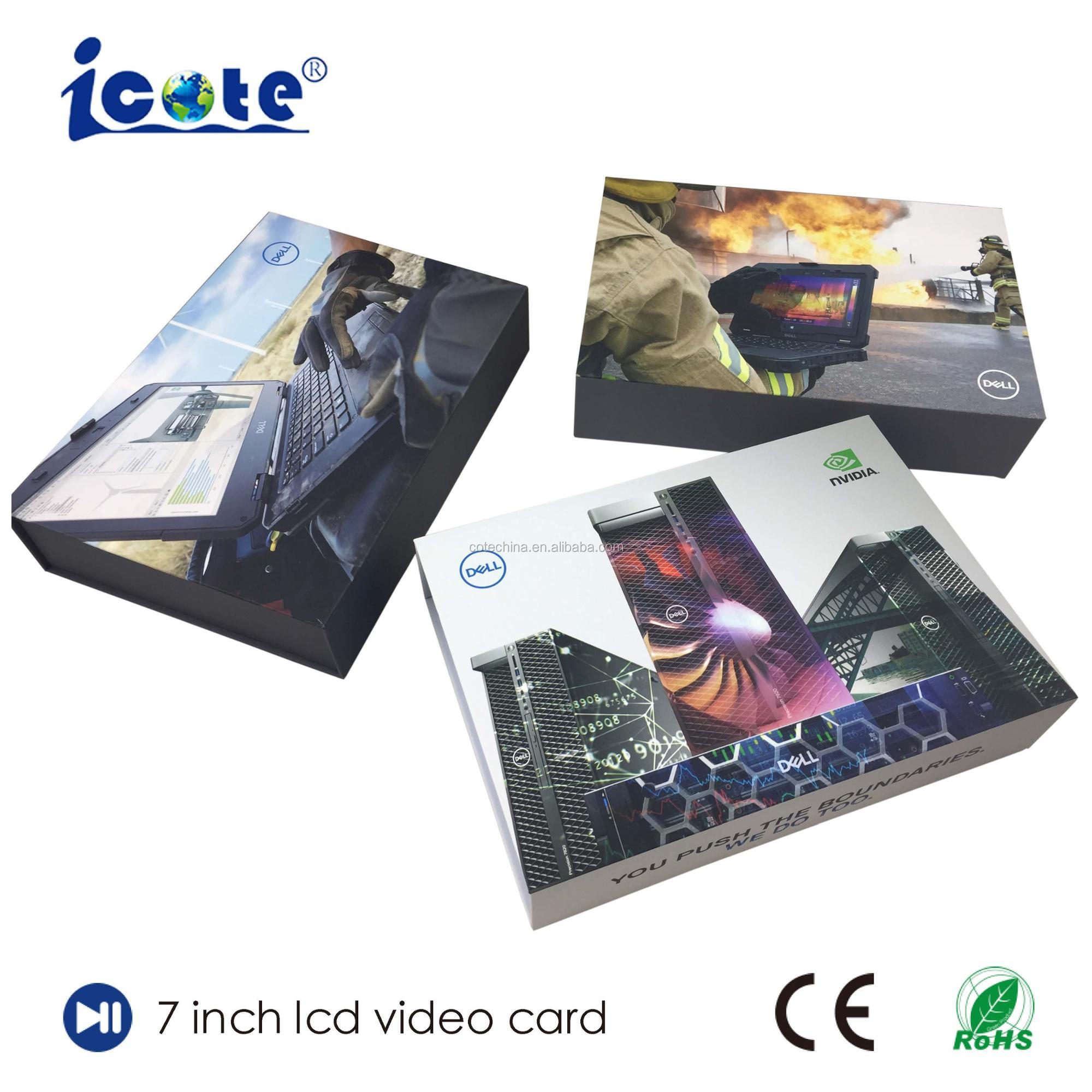COTE Wholesales Gift Item Full Color Kraft Paper Bag Video Brochure In Bangalore For Shop