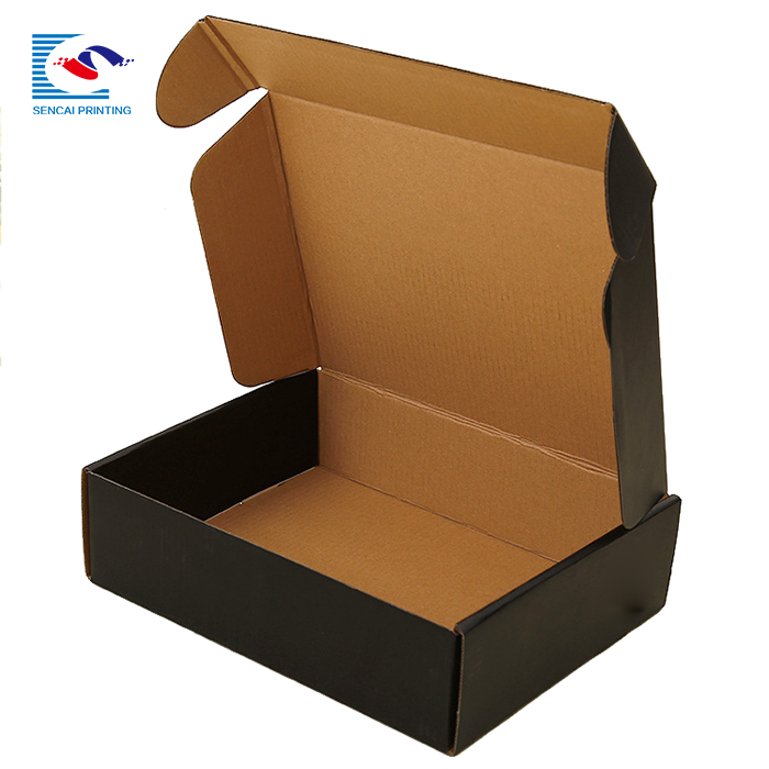 Strong enough corrugated paper mailing clothing box