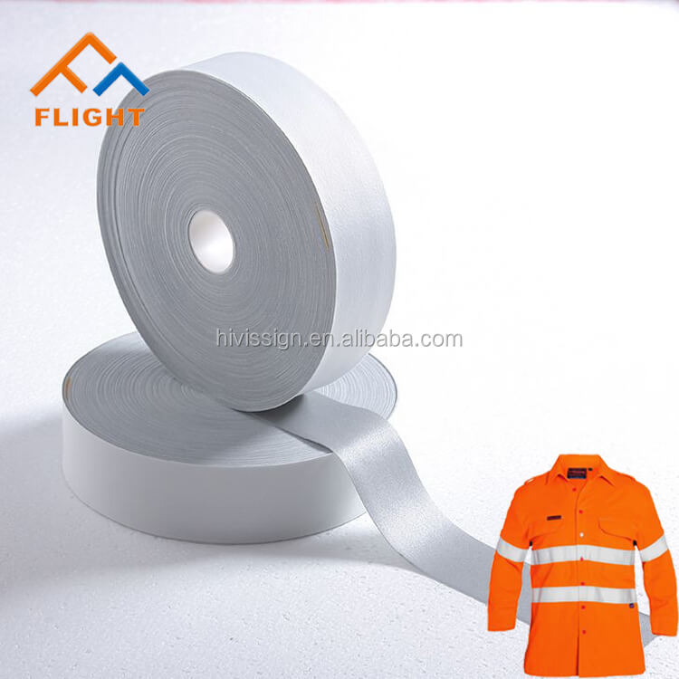 High Visibile Durable Warning 3M Reflective Tape For Clothing