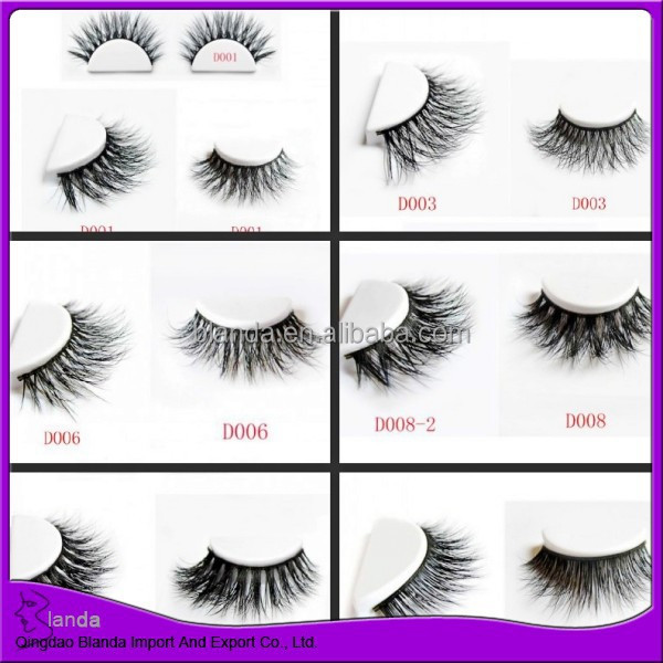 edab67a193d 2015 New 3d Mink Lash Thick Long Natural Eye Lash - Buy 3d Mink Lash,Mink  Lashes Eyelash,Thick Strip Lash Product on Alibaba.com