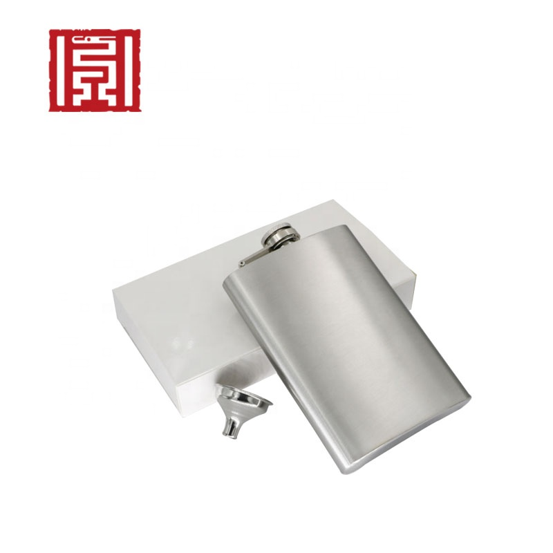 Chinese wine pot 304 stainless steel hip flask logo wholesale