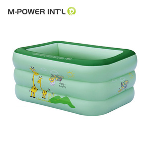 2018 New product inflatable swimming pool, Family Rectangular Frame pool, Easy to carry the swimming pool