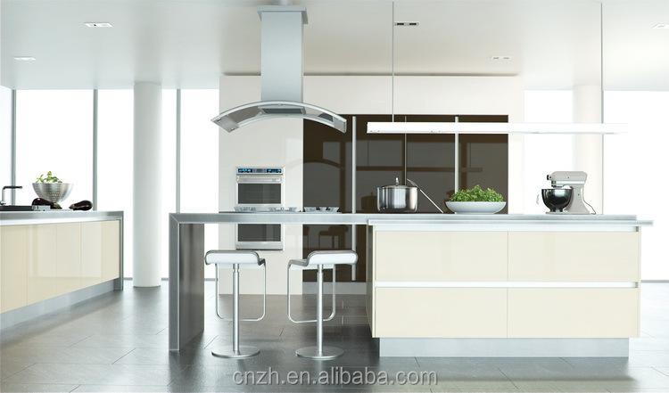 new style lacquer kitchen cabinet for home or hotel in fashion