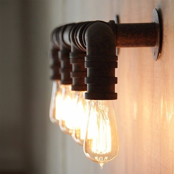 7.11-5 4 testa tubo lampada da parete applique fai da te - buy