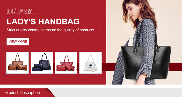 13de149826d 2019 China Factory Direct Sale Ladies Pu 100% Leather Hand Bags ...