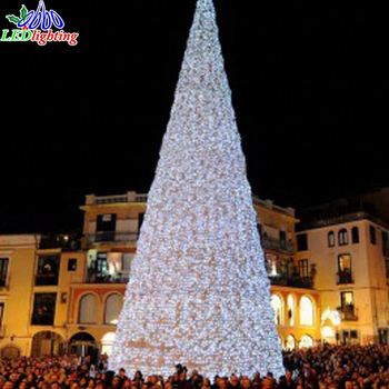 Hot Sale Giant Outdoor Commercial Lighted Christmas Tree With Led Lights Buy Christmas Tree With Led Lights Christmas Light Modern Outdoor