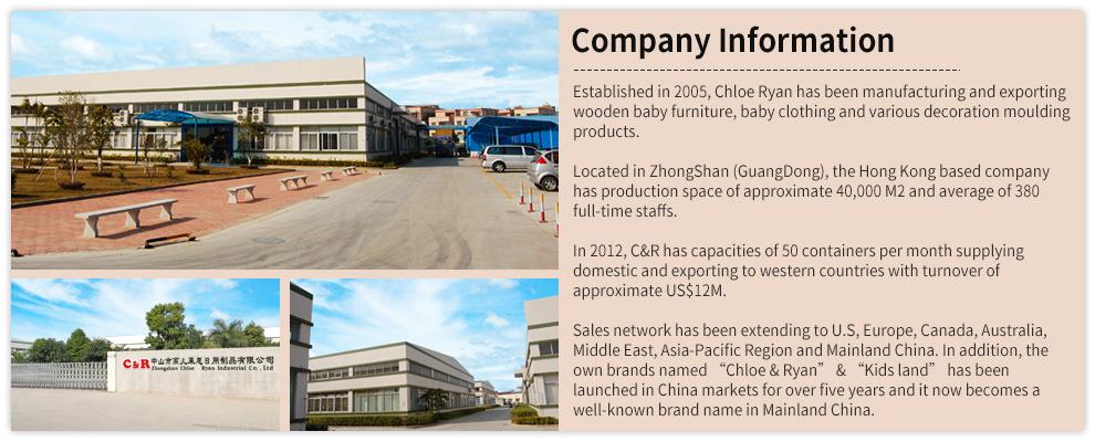 Zhongshan Chloe Ryan Industrial Co., Ltd. - Baby cot,baby crib