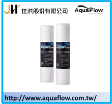 Taiwan Factory price pp spun sediment cartridge water filter for water purifier and ro system