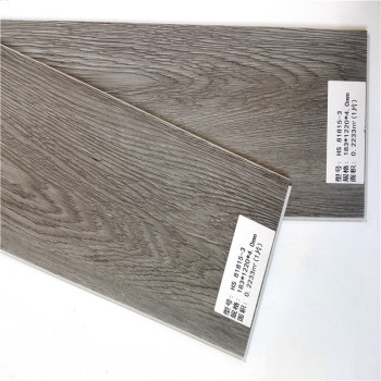 Plastic Vinyl Click Plank Spc Wood Look Vinyl Flooring Tiles For