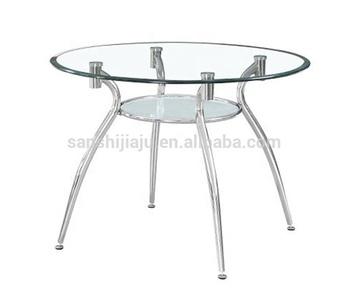 Ronde Glazen Eettafel.Groothandel Ronde Glazen Eettafel Chrome Frame Gehard Glas Eettafel
