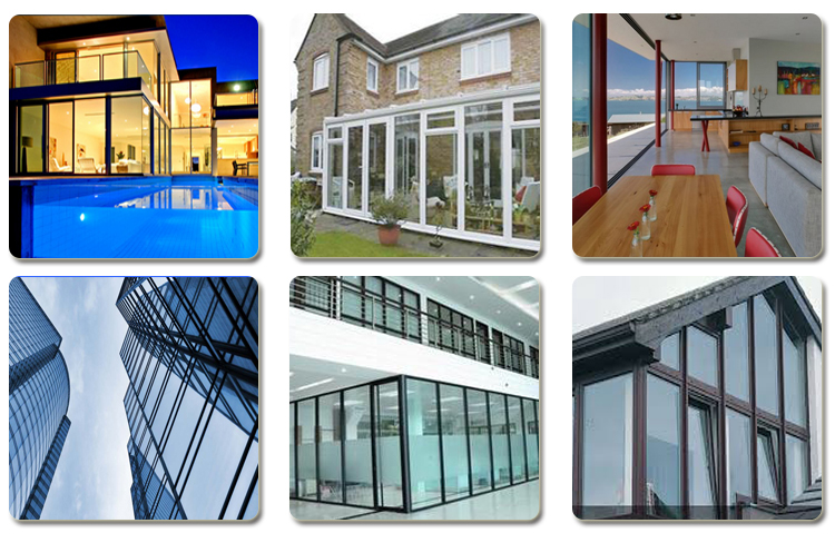 Hot sale double insulated low e glass panels prices